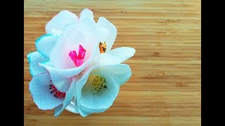 Simple tutorial for how to make tissue paper flowers videos ytube how to make a tissue paper flower simple tissue paper flower for beginners tissue mightylinksfo