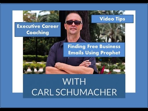 Finding Free Business Emails Using Prophet