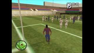 Gta - El Partido Del Barcelona Vs Real Madrid