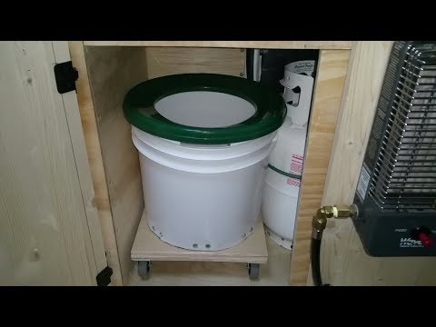 Rolling Chair Toilet & Other Updates.