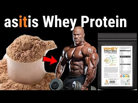 Whey Protein for Weight Loss AND Muscle Building  - As It Is Nutrition Whey Protein - Body Building