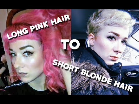 PIXIE CUT - part II - blonde edition!