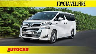 Toyota Vellfire Review - The Super-Innova | First Drive | Autocar India