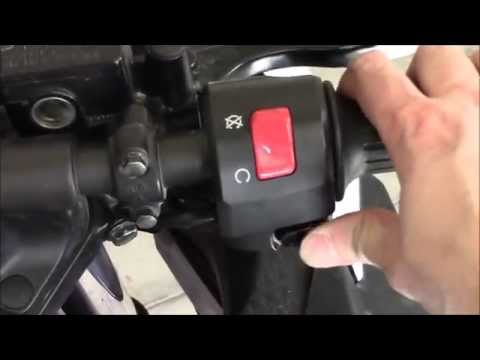 Replacing Motorcycle Kill Switch, Starter Button, and right control group. 2013 Kawasaki Ninja