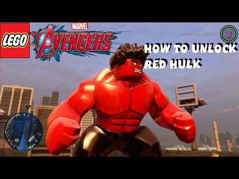 Lego Marvel Avengers - How to Unlock Red Hulk