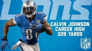 Calvin Johnson Highlights from Career-High 329-Yard Game | Cowboys vs. Lions (2013) | NFL Highlights