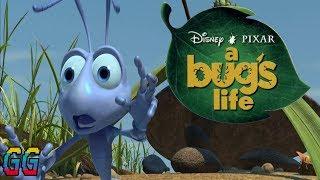 PS1 Disney's A Bug's Life 1998 PLAYTHROUGH (100%)