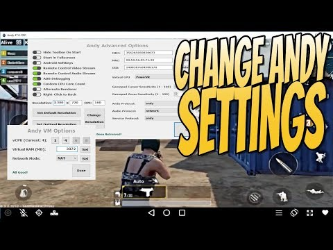 How To Change Andy Emulator Settings   Make Andy Emulator Faster!