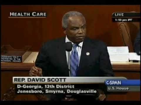 Rep. David Scott 13th District GA
