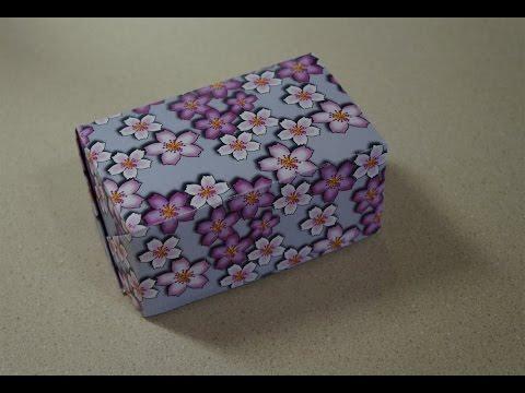 Rectangular Box from Rectangular Sheet