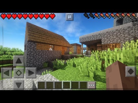 MINECRAFT PE 1.4 TOP 3 BEST WORKING SHADERS - TOP 3 BEST SHADERS FOR MCPE 1.4 - MINECRAFT PE 1.4.2