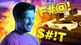 Mark Wahlberg and Peter Berg Race Toy Cars and Blow $#!T Up!