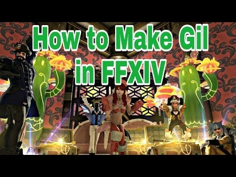 How to Make Gil in FFXIV Ep 14 [Demimateria III's from Red Scrips]
