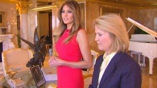 Melania Trump reveals
