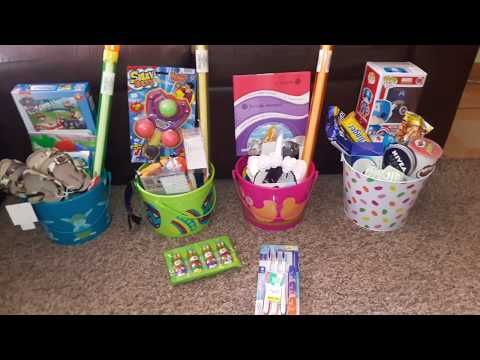 2018 Easter Baskets For Kids/Ideas for Teens, Tweens & Preschoolers