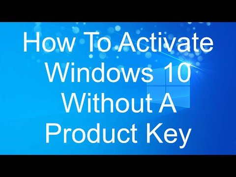 How to Activate Windows 10 Without a Product Key - Using your MS Account