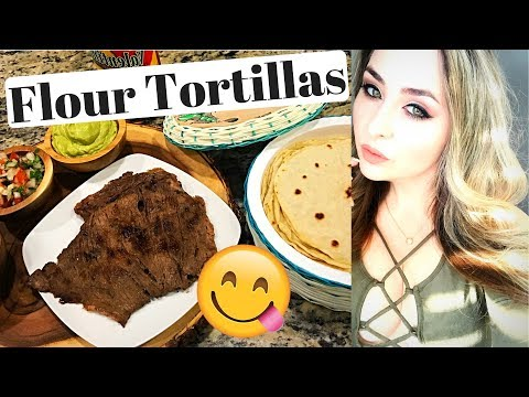 How To Make Flour Tortillas - Easy & Simple