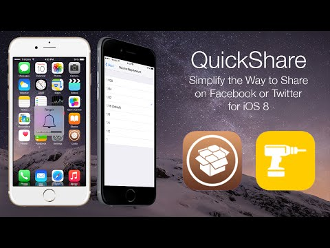 QuickShare: Simplify the Way to Share on Facebook or Twitter for iOS 8