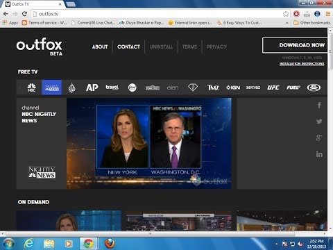How to remove outfox.tv Chrome,Mozilla and IE - Solved