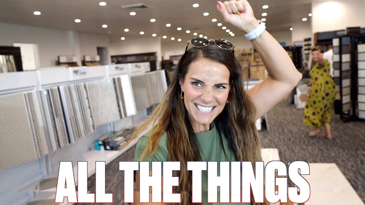 DREAM HOME SHOPPING | PICKING OUT ALL THE THINGS | FLOORING, LIGHTING, APPLIANCES, AND MORE