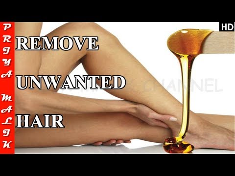 DIY - In just 5 minutes, Remove Unwanted Hair at Home - Priya Malik