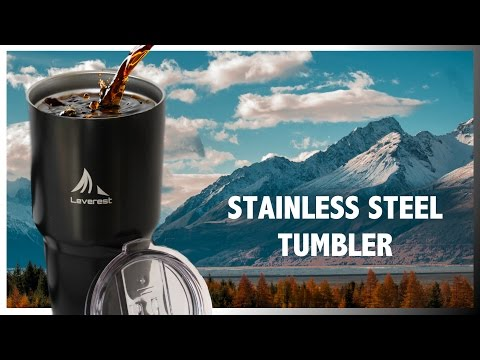 Stainless Steel Tumbler - Best Travel Coffee Mugs