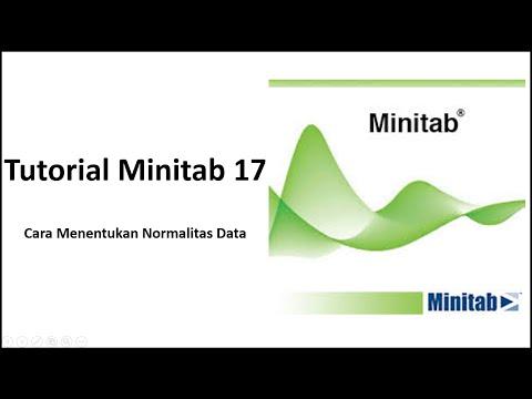 Cara menentukan Normalitas Data Minitab 17
