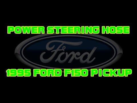 1995 Ford F150 Pickup - 4.9 - Power Steering High Pressure Hose