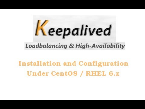 CentOS / RHEL 6.x Keepalived IP Failover Installation and Configuration