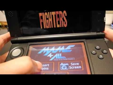 3DS XL play gba fc(nes) sfc(snes) mame md nds