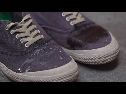 The Ridiculously Easy Way to Waterproof Your Canvas Shoes