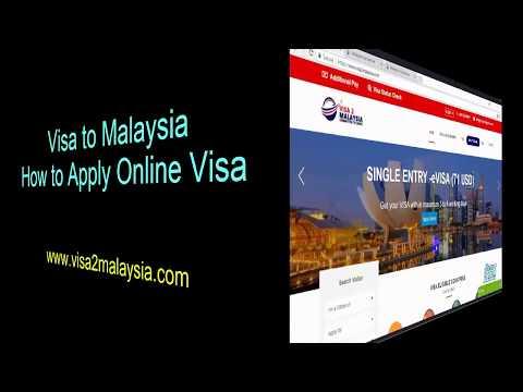 How to Apply Online for Malaysia Tourist Visa? (Visa 2 Malaysia)