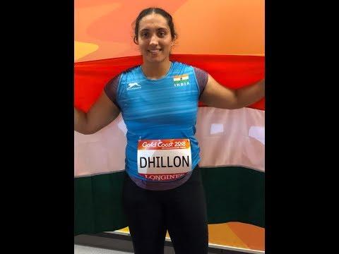 NAVJEET DHILLON II BRONZE MEDAL II DISCUS THROW FINAL II CWG 2018 Updates - Radio Haanji