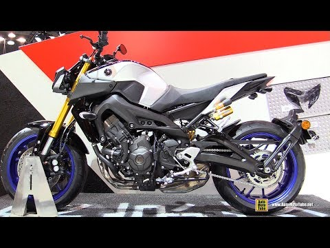 2018 Yamaha MT-09 SP - Walkaround - 2017 EICMA Milan Motorcycle Exhibition