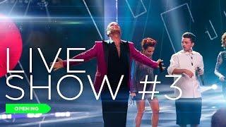 Robbie Williams apre il terzo Live Show