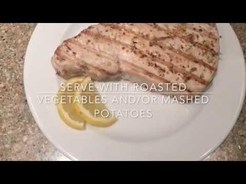 Day 211 - Grilled Blue Marlin Steak