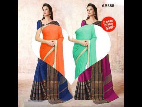 Best price Combo sarees online - zinnga