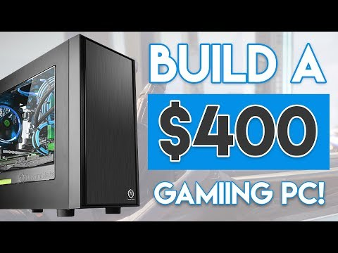 EPIC $400 BUDGET GAMING PC BUILD 2018! [Ryzen APU Build - 1080p 60FPS!]