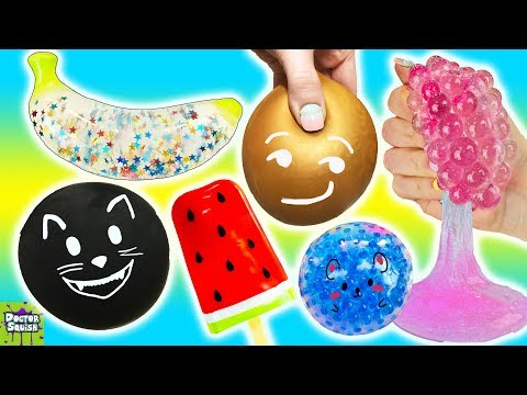 Squishy Roulette Game! What's Inside Joke Kitty Squishy!? Doctor Squish
