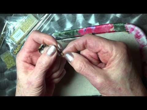 Easiest Undulating Peyote beaded bead/rope