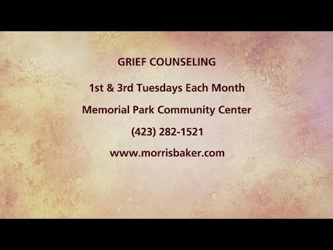 Grief Counseling At Morris-Baker Funeral Home