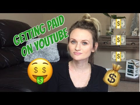 How I Get Paid on YouTube | How To Make $ Being a Small YouTuber