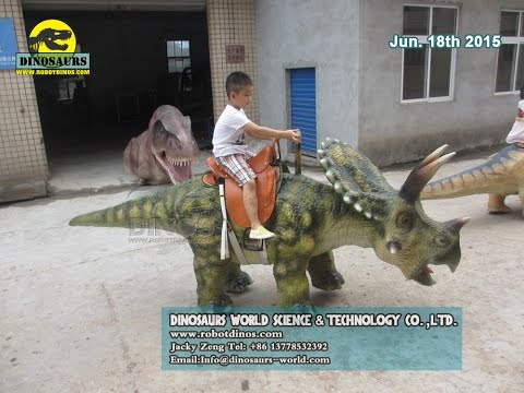 Animatronic Dinosaurs and Fiberglass Dinosaurs Finished In Our Factory
