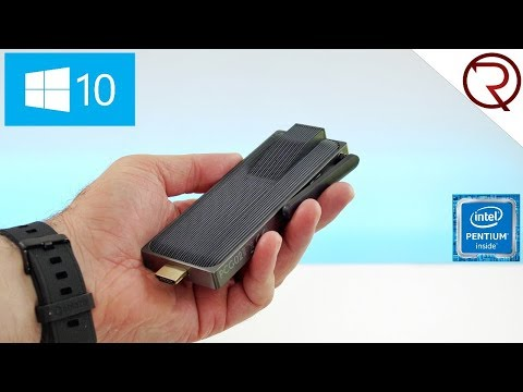 Smallest PC with the Intel N3450? - MeLE PCG02 Apo PC Stick Review