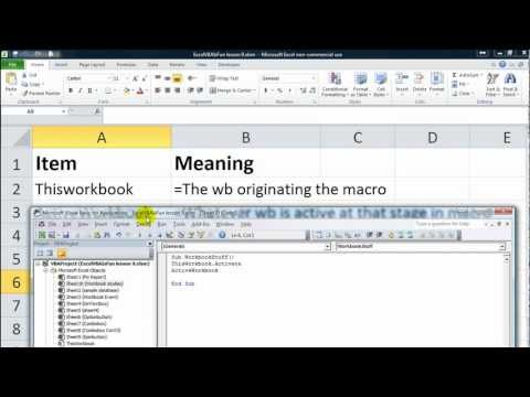 Excel VBA Basics #13 Switching Between Workbooks Dynamically, Create New Workbooks