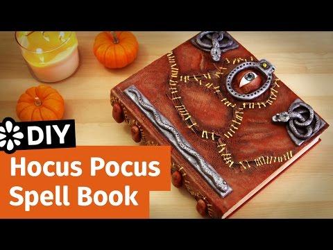 DIY Disney Hocus Pocus Spell Book | Halloween Collab | Sea Lemon