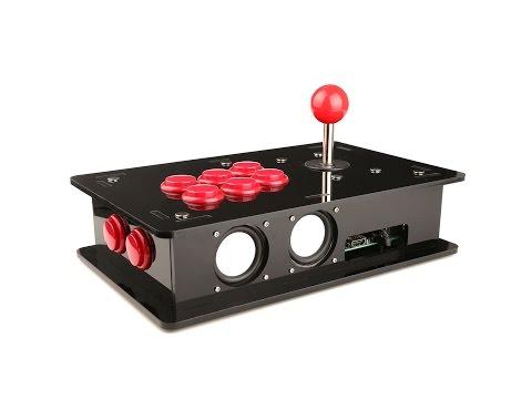 RaspberryPi Acrylic DIY Retro Game Kit Assemble Tutorial