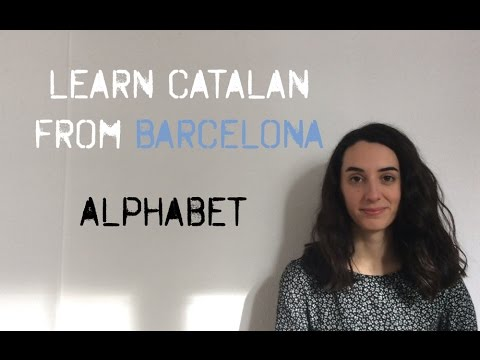 Learn the Catalan Alphabet