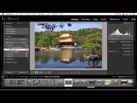Deleting Photographs in Lightroom