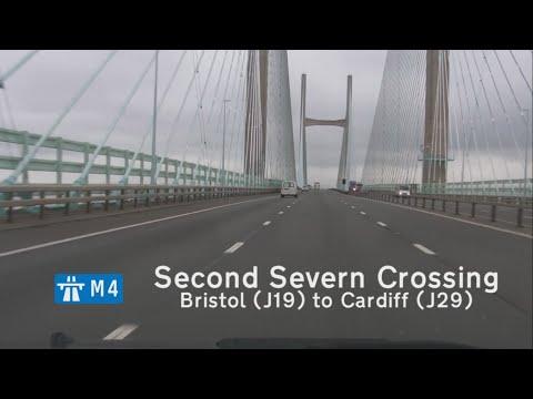 [GB] M4 Second Severn Crossing: Bristol (J19) to Cardiff (J29)
